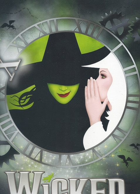 Wicked 10 year Anniversary Souvenir Brochure, Wicked is a musical with music and lyrics by Stephen Schwartz and a book by Winnie Holzman. The story is loosely based on the novel Wicked