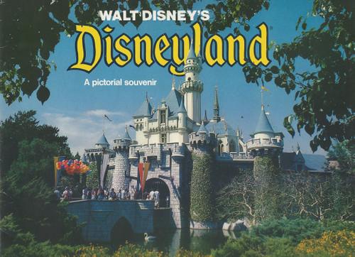 Disneyland Souvenir Brochure 1978, Disneyland Park, originally Disneyland, is the first of two theme parks built at the Disneyland Resort in Anaheim