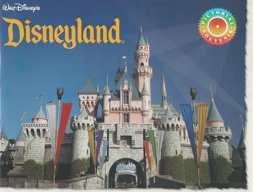 Disneyland Souvenir Brochure 1990's, Disneyland Park, originally Disneyland, is the first of two theme parks built at the Disneyland Resort in Anaheim