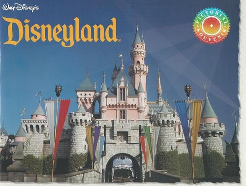 Disneyland Souvenir Brochure 1990's, Disneyland Park, originally Disneyland, is the first of two theme parks built at the Disneyland Resort in Anaheim