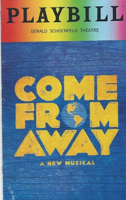 Come From Away is a musical with book, music, and lyrics by Irene Sankoff and David Hein. It is set in the town of Gander, Newfoundland, in the week following the September 11 attacks