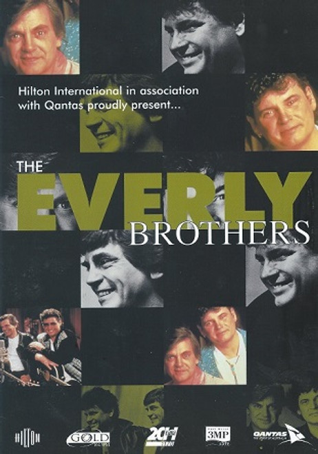 "The Everly Brothers  Australian Tour 1989, The Everly Brothers were an American country-influenced rock and roll duo, known for steel-string acoustic guitar playing and close harmony singing. Isaac Donald ""Don"" Everly (born February 1, 1937) and Phillip ""Phil"" Everly (January 19, 1939 – January 3, 2014) were inducted to the Rock and Roll Hall of Fame in 1986 and the Country Music Hall of Fame in 2001."