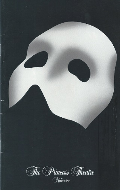 The Phantom of the Opera (Musical) Anthony Warlow, Marina Prior, Dale Burridge 8 December 1990 Australian Premiere Production Melbourne