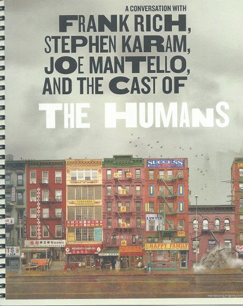 The Humans - Broadway 2016 A Coversation with Frank Rich, Stephen Karam, Joe Mantello and the Cast of the Humans