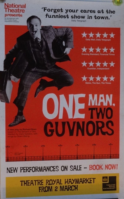 One Man Two Guvnors - 2