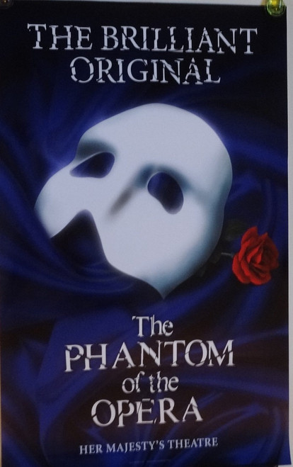 The Phantom of the Opera, The Original Poster (This poster came after Love Never Dies Opened)