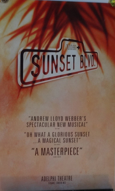 Sunset Boulevard is a musical with book and lyrics by Don Black and Christopher Hampton, and music by Andrew Lloyd Webber.