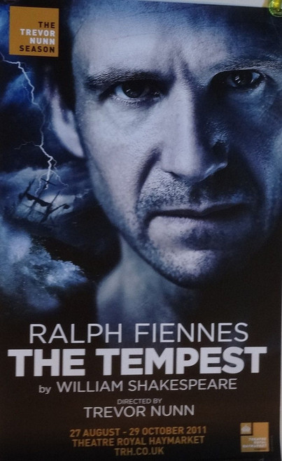 The Tempest London 2011 Production, by William Shakespeare, Starring Ralph Fiennes