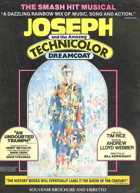 Joseph and the Amazing Technicolor Dreamcoat retells the biblical story of Joseph, his eleven brothers and his coat of many colours and is full of unforgettable songs including 'Any Dream Will Do', 'Close Ev'ry Door To Me' and 'One More Ange
