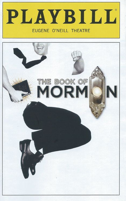 Book of Mormon The (Sept 2018) - Eugene O'Neill Theatre playbill buy now