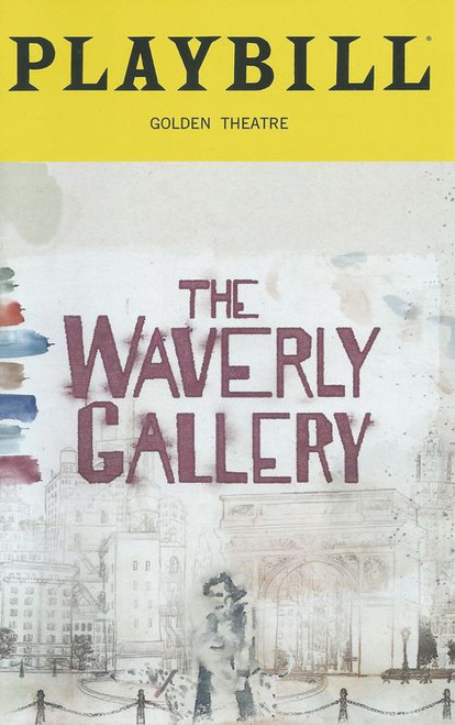 The Waverly Gallery Playbill Sept 2018, Play by Kenneth Lonergan, Cast: Elaine May, Joan Allen, Michael Cera, Lucas Hedges, David Cromer