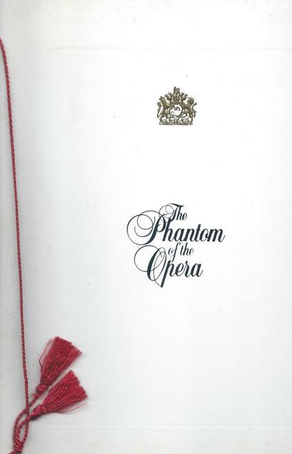 Phantom of the Opera - Broadway (Feb 1991), Kevin Gray, Teri Bibb, Nat Chandler, Rick Hilsabeck, David Huneryager, Patricia Hurd, Patricia Ward, Olga Talyn - Buy Now Theatregold