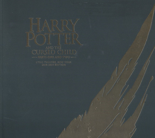 Harry Potter and the Cursed Child  Part Two Souvenir Program 2018 Theatregold