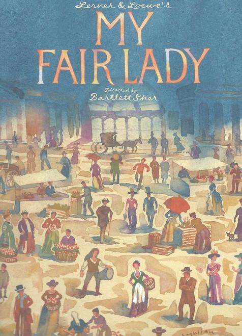 My Fair Lady Broadway 2018 Cast: Lauren Ambrose, Harry Hadden-Paton, Norbert Leo Butz, Rosemary Harris, Allan Corduner, Jordan Donica, Linda Mugleston, Clarke Thorell