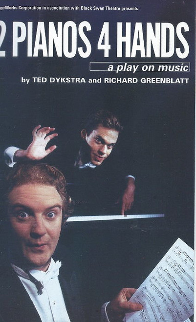 2 Pianos 4 Hands Australian Tour 2000, Comedy Theatre Melbourne, Cast: Edward Simpson, Jonathan Gavin