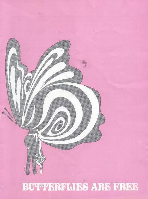 Butterflies are Free 1971, Playbox Theatre Melbourne, Cast: Sean Scully, Wendy Hughes, Miriam Karlin, Stewart Faichney