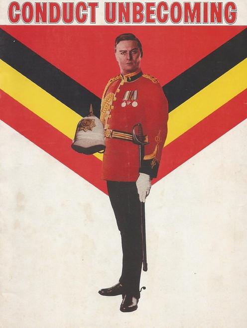 Conduct Unbecoming by Barry England - 1971, Comedy Theatre Melbourne, Cast: James Condon, Ken Fraser, Don Barkham, Audine Leith, Gavin Hamilton, John Morris, Rod Mullinar, Paul Young, John Bowman