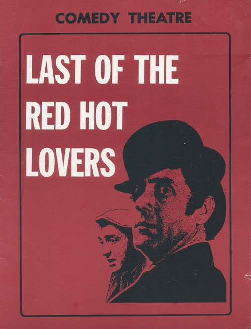 Last of the Red Hot Lovers - Melbourne 1972 Comedy Theatre Cast: Harry H Corbett, Leila Blake, Anne Lucas, Betty Lucas