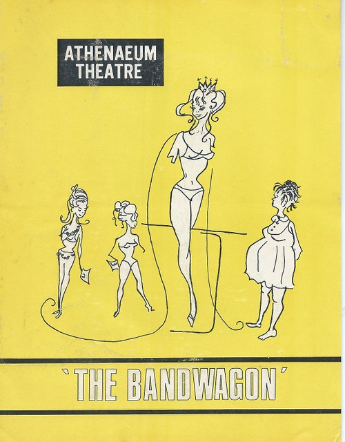 The Bandwagon, by George S. Kaufman and Howard Dietz, lyrics by Howard Dietz and music by Arthur Schwartz Athenaeum Theatre Melbourne 1970