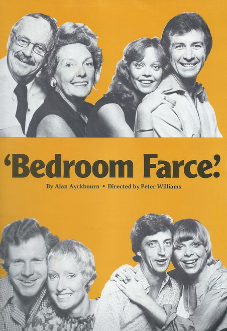 Bedroom Farce, by Alan Ayckbourn - Directed by Peter Williams Comedy Theatre Melbourne 1979 (original Ticket on 2nd Page)