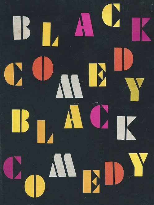 Black Comedy, by Peter Shaffer Madge Ryan in Two Plays Black Comedy Preceded by The White Liars Black Comedy is a one-act farce by Peter Shaffer, first performed in 1965.
