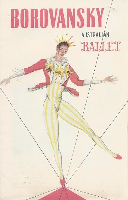 Borovansky Ballet Australian Tour 1954 Her Majesty's Theatre Melbourne Choreography by M Fokine