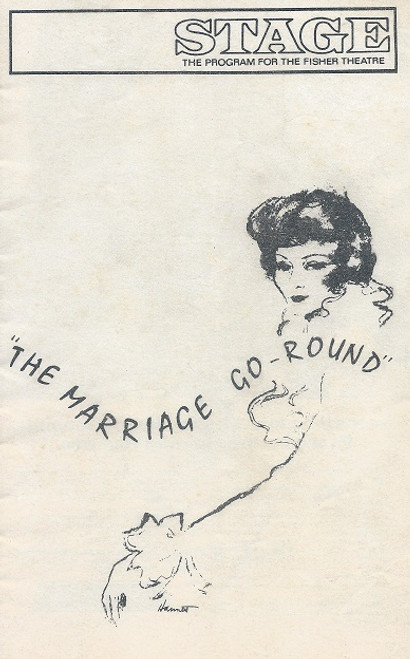 The Marriage Go-Round - Fisher Theatre Detroit Claudette Colbert and Michael Evans
