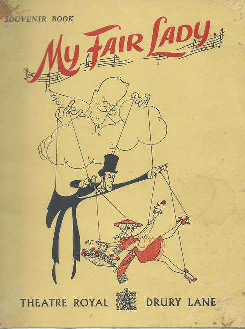 My Fair Lady (Musical) Stapley/Lee- 1961 West End Production UK. Charles Stapley, Tonia Lee Condition Fair