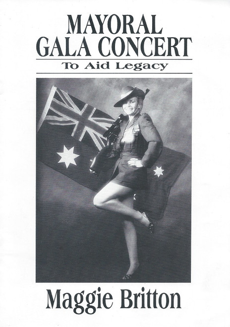 Mayoral Gala Concert Maggie Britton - Geelong Concert in aid of Legacy 1984