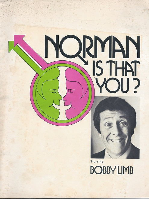 Norman, Is That You? by Sam Bobrick and Ron Clark Playbox Theatre Melbourne 1974 Bobby Limb, Amber Mae Cecil, Peter Hammond, Cherry Blaskett, Robert Brockman