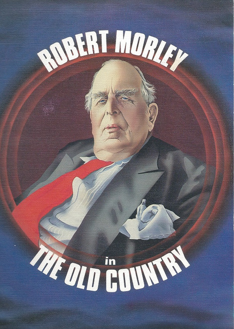 The Old Country - Australian Tour  by Alan Bennett with Robert Morley Comedy Theatre Melbourne 1980 Margo Lee, Robert Van Mackelenberg, Louise Pajo, Wallas Eaton, Bettina Welch