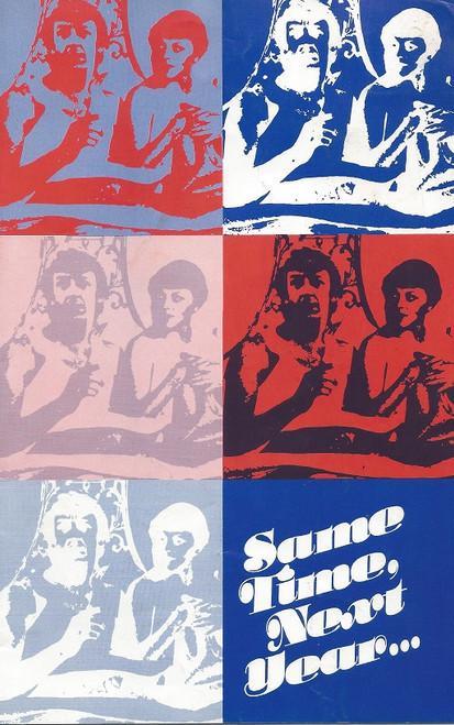 Same Time Next Year (Play) Lewis Fiander, Nancye Hayes Australian Production Sydney Premiere 15th Sept 1976