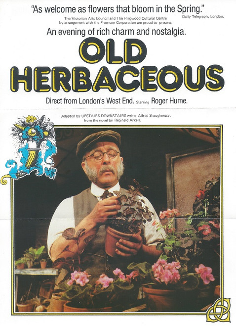 Old Herbaceous adapted by Alfred Shaughnessy Original Source novel from Reginald Arkell