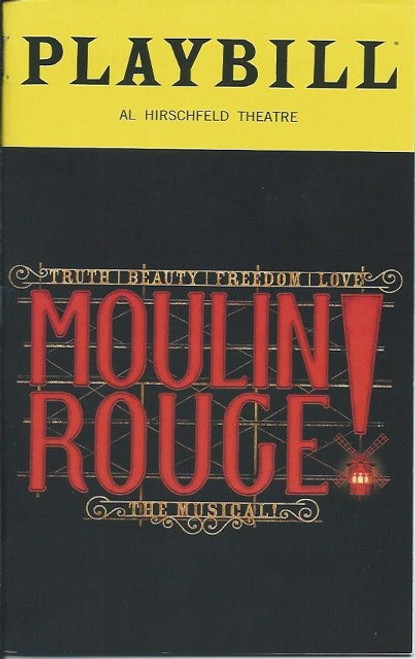 Moulin Rouge! The Musical is a jukebox musical with a book by John Logan. The musical is based on the 2001 film Moulin Rouge! directed by Baz Luhrmann and written by Luhrmann and Craig Pearce
