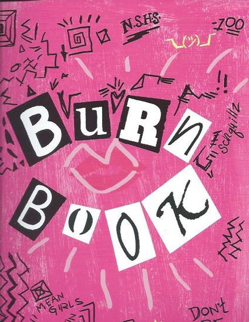 Mean Girls - August Wilson Theatre Broadway Souvenir Brochure / Burn Book