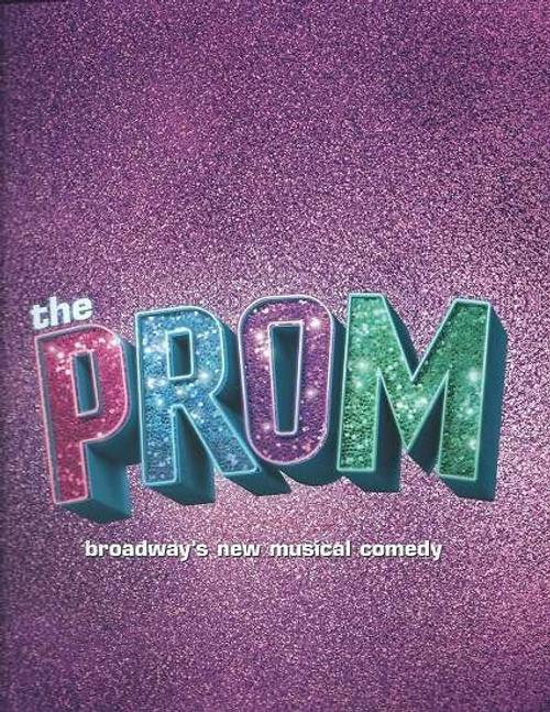 The Prom - Broadway 2018 -  Longacre Theatre Souvenir Brochure / Program, Cast Brooks Ashmanskas, Beth Leavel, Christopher Sieber, Courtenay Collins, Caitlin Kinnunen, Josh Lamon