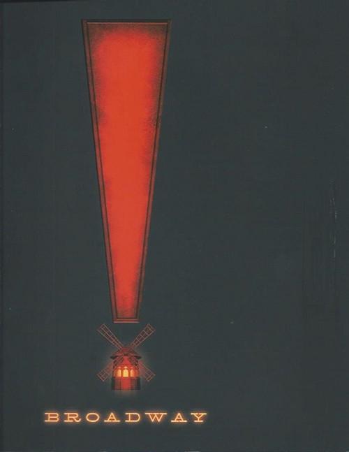 Moulin Rouge - Musical Broadway - Al Hirschfeld Theatre Souvenir Brochure / Program, Karen Olivo, Aaron Tveit, Danny Burstein, Sahr Ngaujah, Tam Mutu, Ricky Rojas, Robyn Hurder