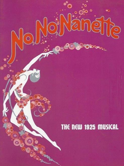 No, No, Nanette (Musical) Yvonne De Carlo, Paul Wallace, Jill Perryman, Rosie Sturgess - Dec 1972 Australian Production (Mel)