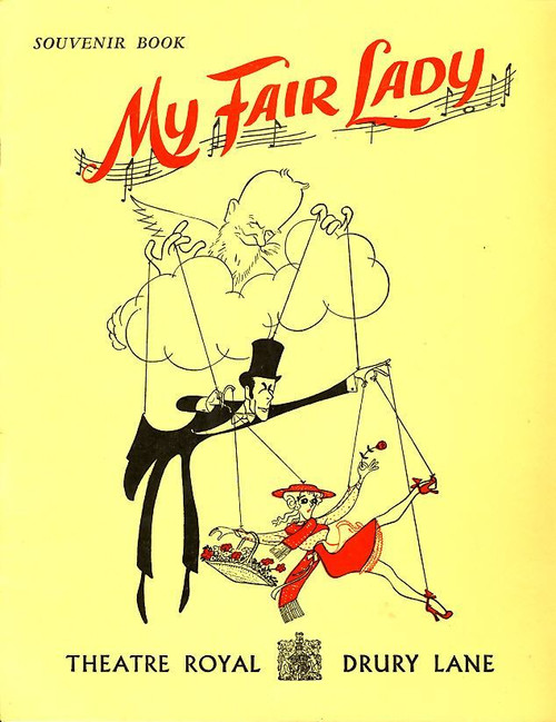 My Fair Lady is a musical based upon George Bernard Shaw's Pygmalion and with book and lyrics by Alan Jay Lerner and music by Frederick Loewe.