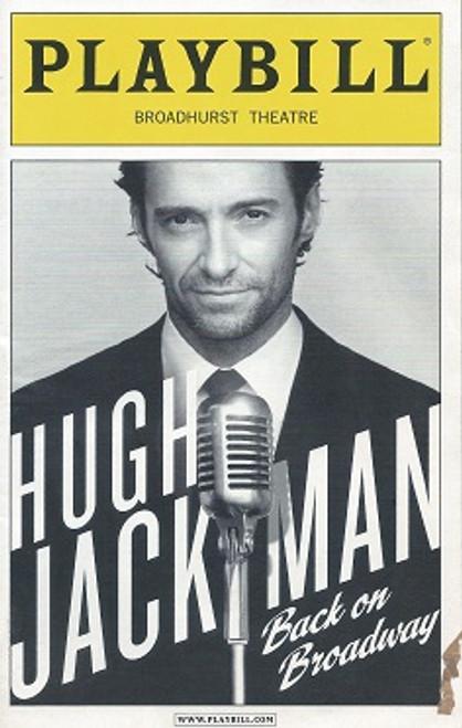Hugh Jackman Back on Broadway (Musical) Broadhurst Theatre Broadway Playbill Dec 2011