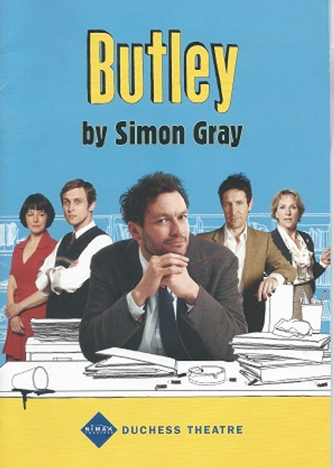 Butley (Play) Dominic West, Martin Hutson, Emma Hiddleston, Penny Downie, Amanda Drew, Paul McGann, Cai Brigden- 2011  Duchess Theatre West End London