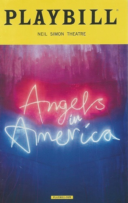 Angels in America (Play) Neil Simon Theatre Playbill Feb 2018
