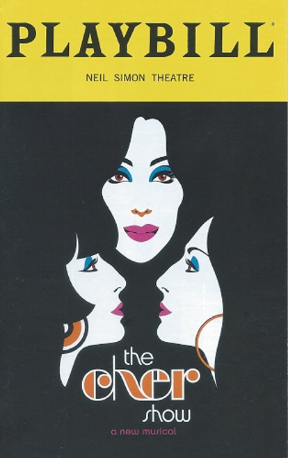 The Cher Show - Broadway (Playbill Nov 2018) The Cher Show is a jukebox musical with a book by Rick Elice that tells the story of the early life and career of Cher.