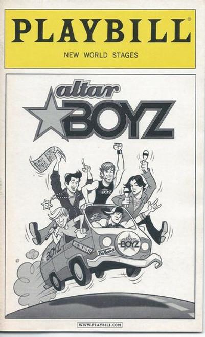 Altar Boyz (feb 2007) New World Stages - Kyle Dean Massey, Zach Hanna, Landon Beard, Shaun Taylor-Corbett, Eric Schneider