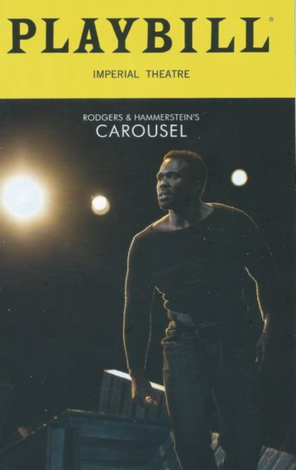 Carousel - Broadway (Playbill April 2018) Starring in this Production Joshua Henry, Jessie Mueller, Renee Fleming, Lindsay Mendez, Alexander Gemignani, Margaret Colin