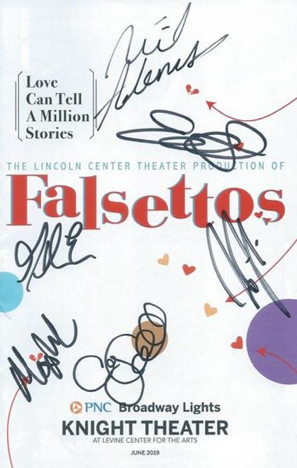 Falsettos - USA Tour Charlotte Starring: Max Von Essen, Nick Adams, Nick Blaemire, Eden Espinosa, Bryonha Marie Param, Audrey Cardwell, Thatcher Jacobs, Jonah Mussolino