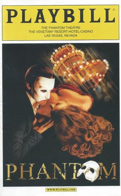 The Phantom of the Opera (Musical)  Anthony Crivello, Kristi Holden, Andrew Ragone - Las Vegas Spectacula Venetian Resort Jun 2012