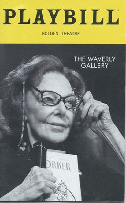 The Waverly Gallery Playbill Dec 2018 Play by Kenneth Lonergan Cast: Elaine May, Joan Allen, Michael Cera, Lucas Hedges, David Cromer