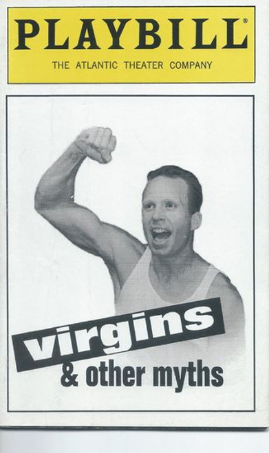 Virgins and Other Myths - Atlantic Theater Company Playbill / Program - Off Broadway Apr 1996 Cast: Colin Martin Directed by Bruce Blair