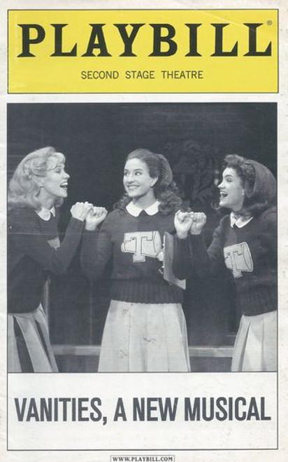 Vanities, A New Musical - Off Broadway Second Stage Theatre Playbill / Program July 2009 Cast: Lauren Kennedy, Sarah Stiles, Anneliese van der Pol